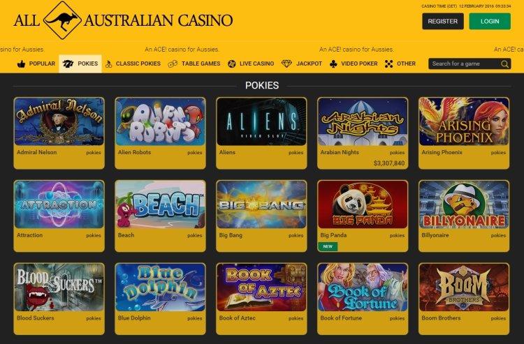 online casino AUD
