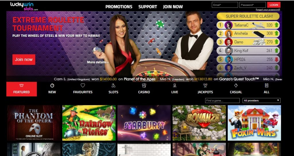 Lucky Win Slots Casino review
