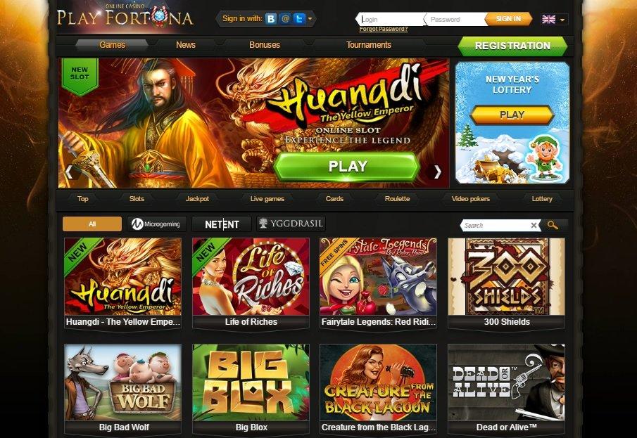 Playfortuna online casino Polish