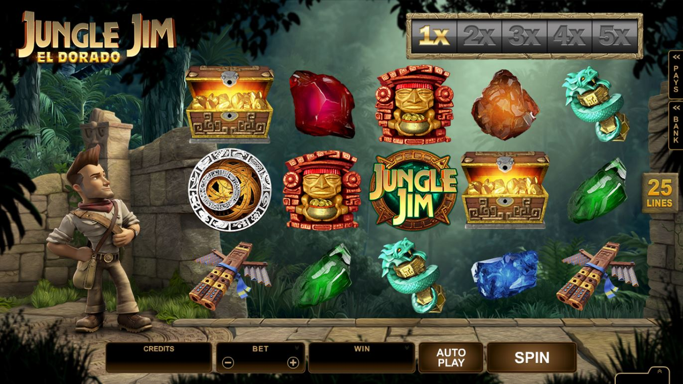 Jungle Jim El Dorado Slot - Play this Game for Free Online