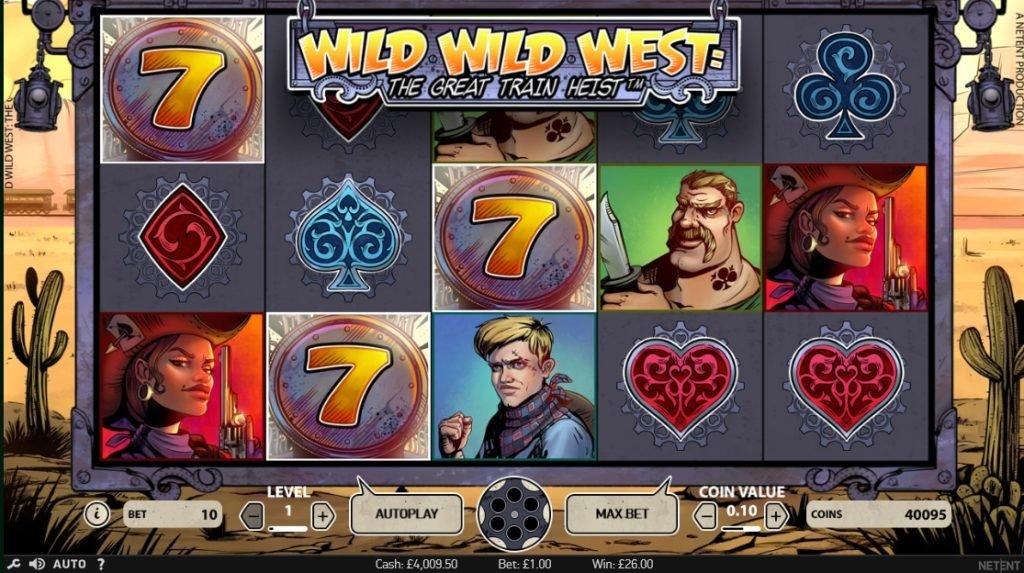 Wild Wild West: The Great Train Heist slot