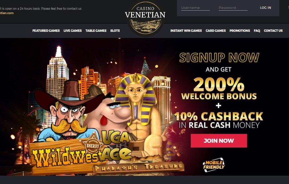 Venetian Casino review