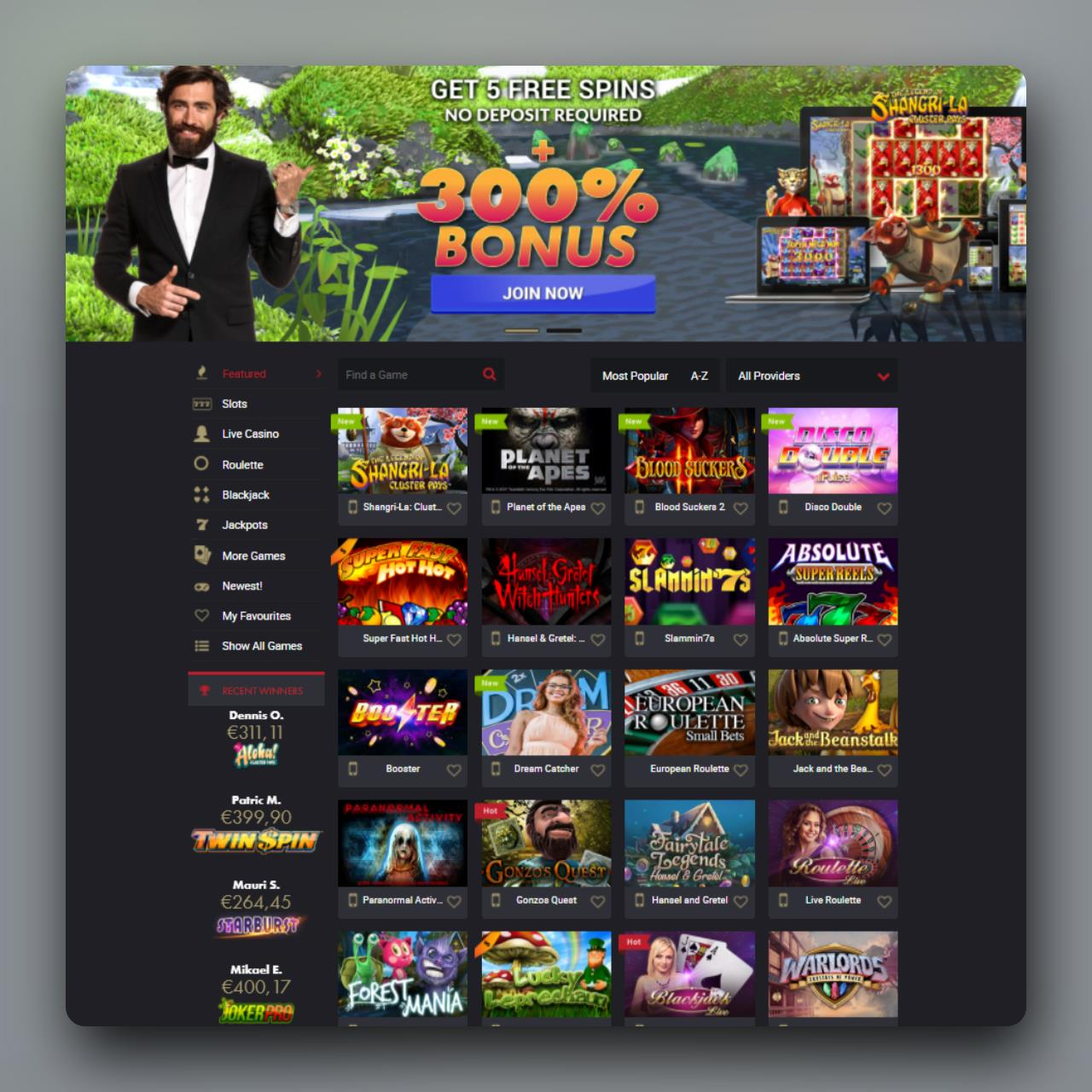 RoyRichie Casino review
