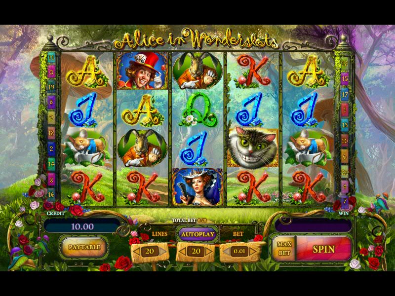 Alice in Wonderland slot review
