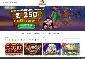 Boaboa online Casino review