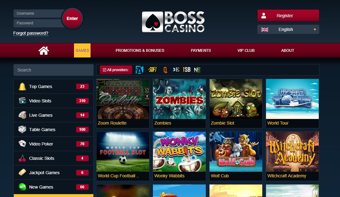 Boss Casino review