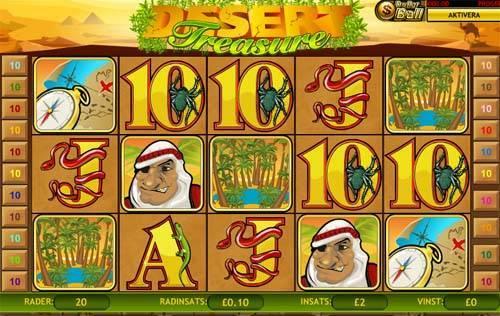 Desert Treasure Slot Review