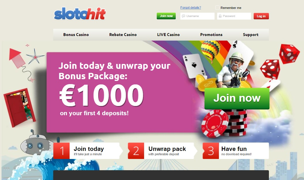 Slotohit Casino Review