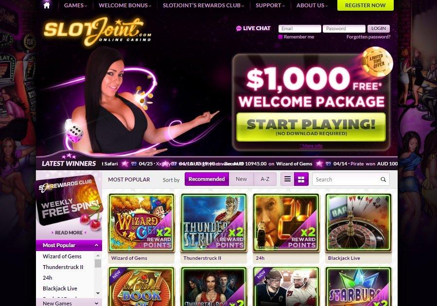 SlotsJoint online casino