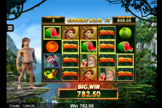 Tarzan slot game review