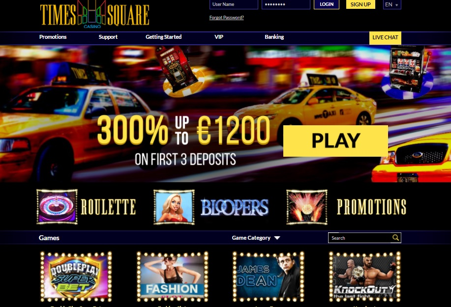 Time Square casino review