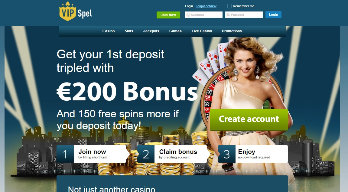 Vip Spel casino review - VIPSpel casino review